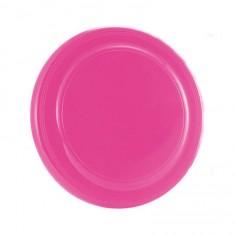 Disque à lancer (frisbee) rose pailleté