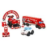 Ensemble de 3 véhicules Fast Car F1 Abrick