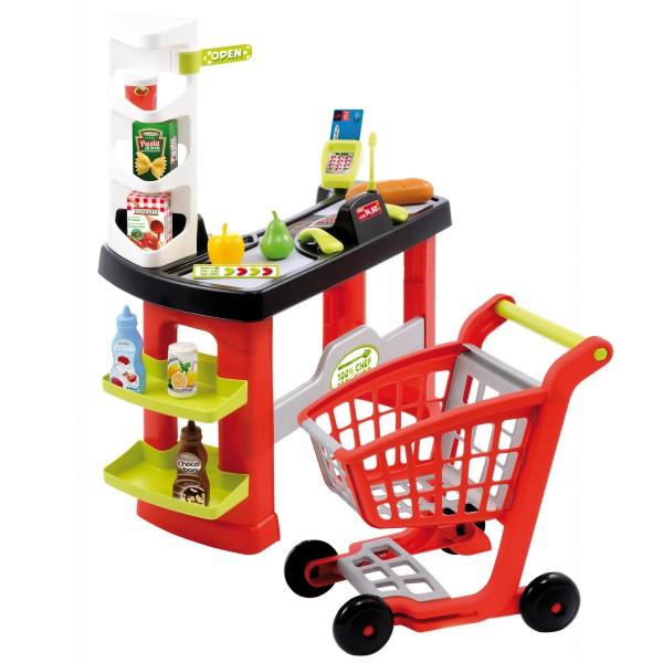 marchande pro cook sortie de caisse jeux et jouets ecoiffier avenue des jeux. Black Bedroom Furniture Sets. Home Design Ideas