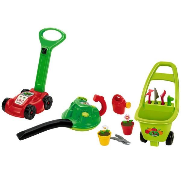 outillage de jardin pour enfants ensemble 3 en 1 jeux et jouets ecoiffier avenue des jeux. Black Bedroom Furniture Sets. Home Design Ideas