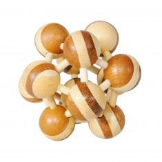 Casse-tête en bois Bamboo : Atomium