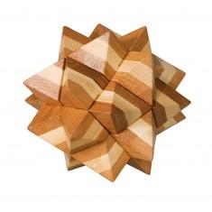 Casse-tête en bois Bamboo : Etoile