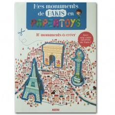 Créations en Papertoys : Mes Monuments de Paris