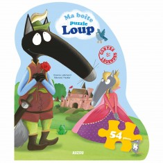 Boîte puzzle Loup N°2