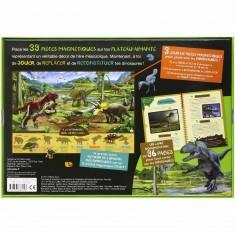 Coffret à la découverte des dinosaures à reconstituer