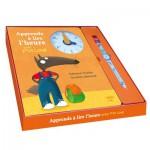 Coffret Apprends à lire l'heure avec P'tit Loup : Livre + Montre