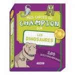 Jeu de cartes éducatif : Cartes Champion Dinos