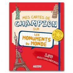 Jeu de cartes éducatif : Cartes Champion Les monuments du monde