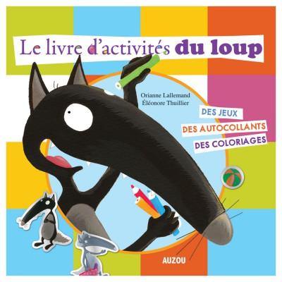livre d 39 activit s de loup autour du monde jeux et jouets editions auzou avenue des jeux. Black Bedroom Furniture Sets. Home Design Ideas