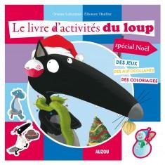 Livre d'activités du Loup, spécial Noël