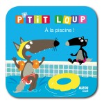 Livre de bain P'tit Loup : A la piscine