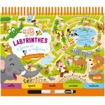 Livre éducatif : 48 labyrinthes A faire et à refaire !