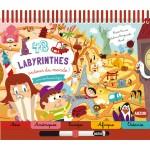 Livre éducatif : 48 labyrinthes Autour du monde !
