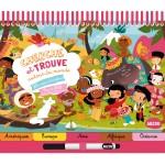 Livre éducatif : Cherche et Trouve Autour du monde