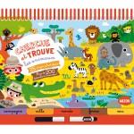 Livre éducatif : Cherche et Trouve les animaux