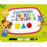 Livre éducatif Graine de Champion : J'apprends les formes et les couleurs