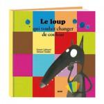 Livre grand format : Le loup qui voulait changer de couleur