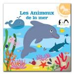 Livre Les p'tits tout doux : Les animaux de la mer