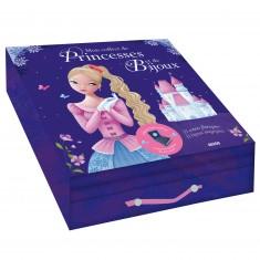 Mon coffret de Princesses et de Bijoux : Livre + Bijoux