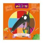 Puzzle 2x16 pièces : Le loup qui voulait changer de couleur