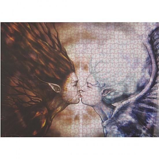 Puzzle 1000 pièces - Cristiana Leone : Entre terre et ciel - Ricordi-25054