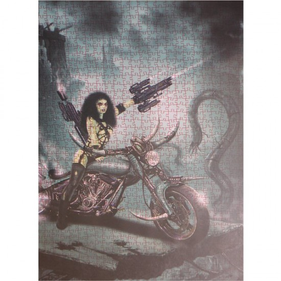 Puzzle 1000 pièces - Jose Del Nido : Femme apocalyptique - Ricordi-25059