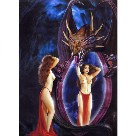 Puzzle 1000 pièces - Jose Del Nido : Miroir magique - Ricordi-25056