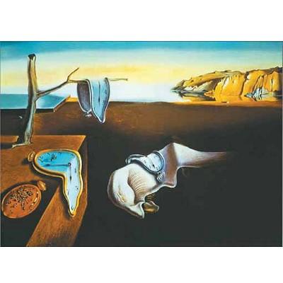 Puzzle 1000 pièces - Art - Dali : Persistance de la Mémoire - Ricordi-09569