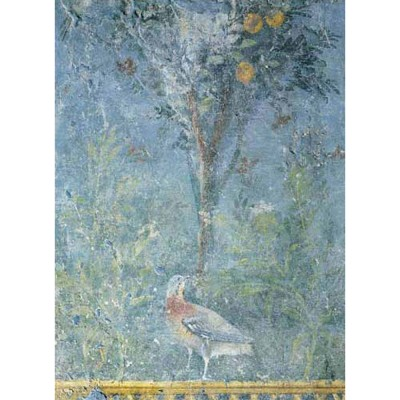 puzzle 1000 pi ces art roman fresco l 39 oiseau dans le jardin jeux et jouets editions. Black Bedroom Furniture Sets. Home Design Ideas