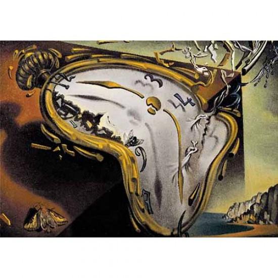 Puzzle 1000 pièces - Coffret en bois - Dali : Les montres molles - Ricordi-58064