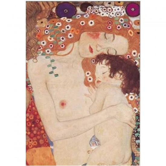 Puzzle 1000 pièces - Klimt : Les trois âges - Ricordi-09630