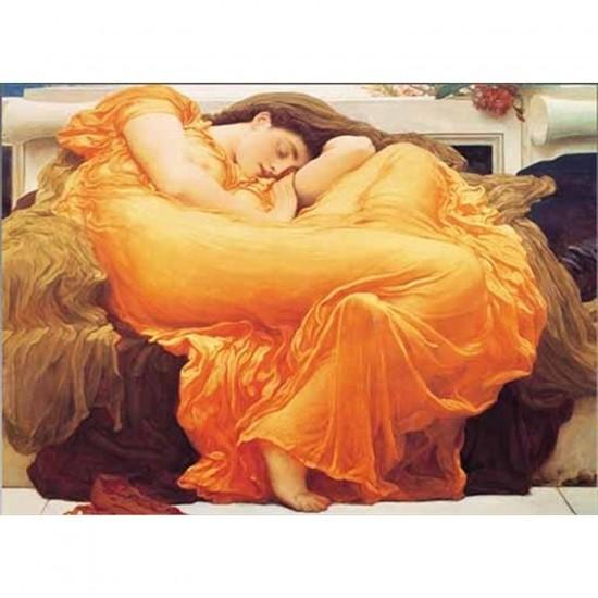 Puzzle 1000 pièces - Leighton : Flaming June - Ricordi-15709