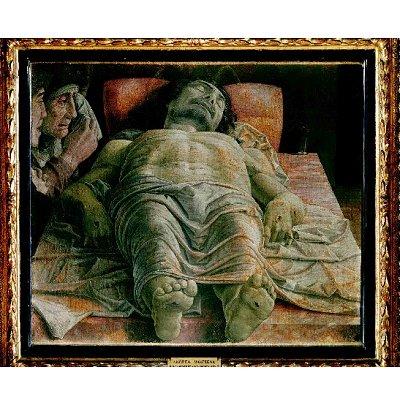 Puzzle 1000 pièces - Mantegna : Cristo morto - Ricordi-16059