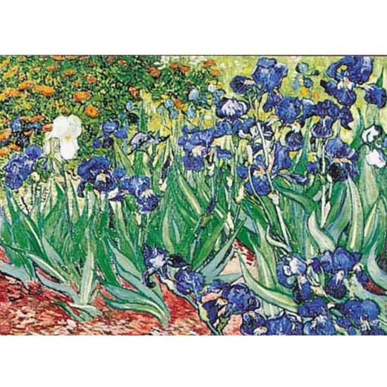 Puzzle 1000 pièces - Van Gogh : iris - Ricordi-09589
