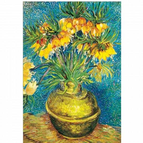Puzzle 1000 pièces - Van Gogh : Les Fritillaires - Ricordi-14436