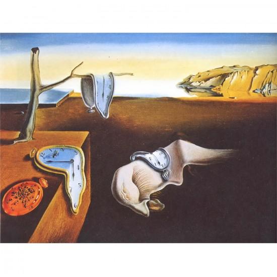 Puzzle 250 pièces -  Dali : La persistance - Ricordi-58010