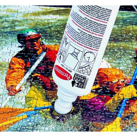 Colle pour puzzle Educa : Flacon 250 cc - Educa-10622