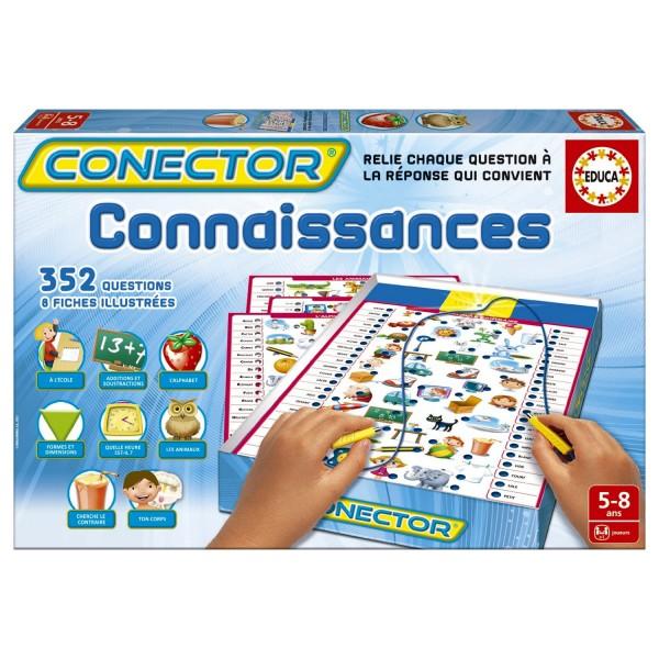 Connector : Connaissances avec fiches illustrées - Educa-15239