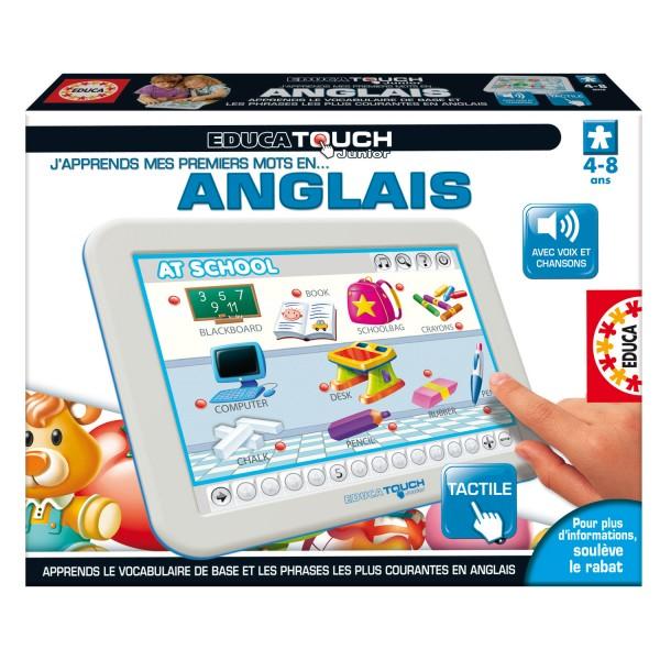 Educa Touch Junior : J'apprends mes premiers mots en anglais - Educa-15877