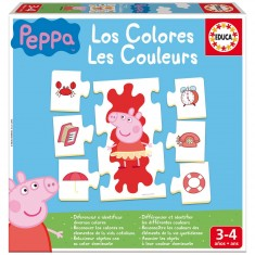 J'apprends les couleurs : Peppa Pig
