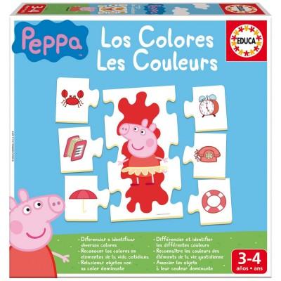 J 39 apprends les couleurs peppa pig jeux et jouets educa avenue des jeux - Fusee peppa pig ...