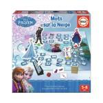 Jeu éducatif La Reine des Neiges (Frozen) : Mots sur la neige