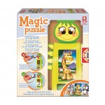Magic Puzzle : Tower Puzzle