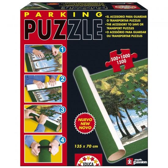 Parking puzzle : Tapis pour les puzzles de 500 à 1500 pièces - Educa-13390