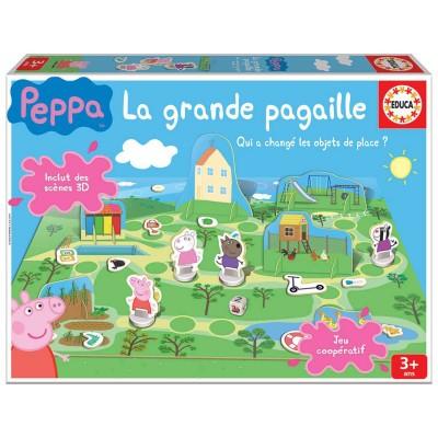 Peppa pig la grande pagaille jeux et jouets educa avenue des jeux - Fusee peppa pig ...