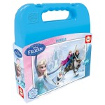 Puzzle 100 pièces : La Reine des Neiges (Frozen)