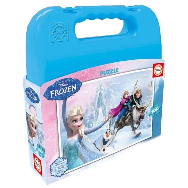 puzzle 100 pi ces la reine des neiges frozen jeux et jouets educa avenue des jeux. Black Bedroom Furniture Sets. Home Design Ideas