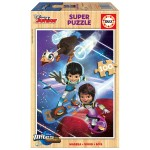 Puzzle 100 pièces : Miles dans l'espace