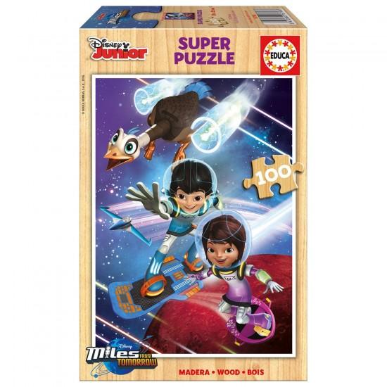 Puzzle 100 pièces : Miles dans l'espace - Educa-16798