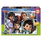 Puzzle 100 pièces : Miles et sa famille dans l'espace
